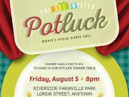 Template For Event Flyer Potluck Event Flyer Template By Kinzi Wij Dribbble Dribbble