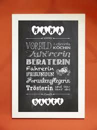 Tafelbild Kunstdruck Mama Danke Von Foto Design Digital Art