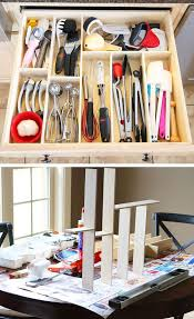 diy kitchen utensil drawer organizer diy kitchen storage ideas for small spaces for