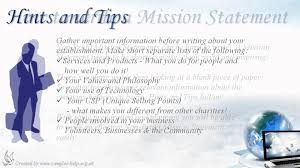 mission statement examples business how to write non profit mission statements youtube