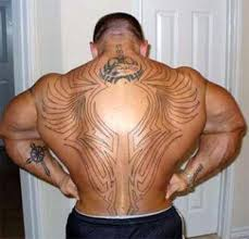 Kulturistika Fitness Tetování Je Zase In Rozmyslete Si Však
