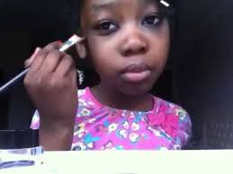 makeup tutorial from 10 year old