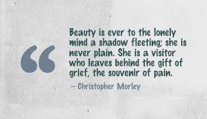 Beauty Is Fleeting Quote