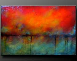 Oxidized Metal 2 - 36 x 24 - Acrylic Abstract Painting - HIghly Textured