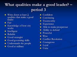 qualities of a good leader essay online thesis sites custom university admission essay depaul