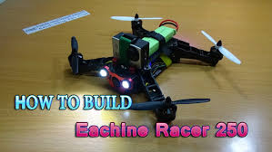 how to build a eachine racer 250 diy kit naze32 racing fpv quadcopter you