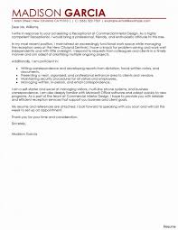 Cover Letter Sample For Receptionist
