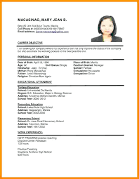 cv or resume samples cv or resume format putasgae info
