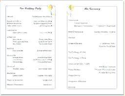 Church Program Templates Free Download Free Printable Church Bulletin Templates Success Bulletins