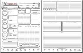 shadowrun 5 character sheet new section and d d 5e character sheet pdf