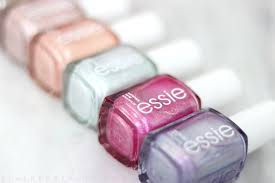 essie seaglass shimmers collection swatches