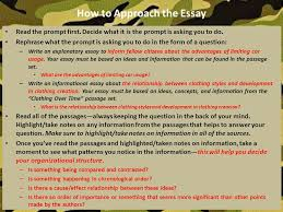 english ii honors english ii ppt video online how to approach the essay