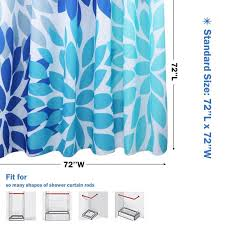 medium size of what size is a standard shower curtain liner for curved rod width tub
