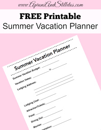 How I Plan Vacations With Others Using Shared Calendars Printable