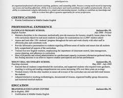 teacher resume mission statement aaaaeroincus wonderful teacher resume samples amp writing guide resume genius luxury english teacher resume sample