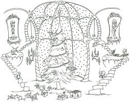 Beautiful Christmas Coloring Pages For Adults Coloring Pages For Christmas Coloring Book L