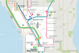 Seattle Transit Map Light Rail Seattle Rail Map A Smart City Guide Map Even Offline