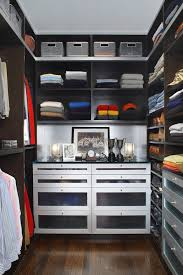 when the cabinetry is all black it s easier to find what you want to wear because
