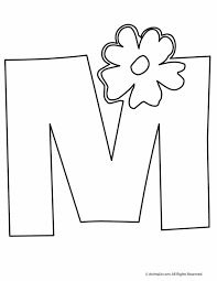 Small Picture Letter M Coloring Page Stunning Design Ideas M Coloring Pages