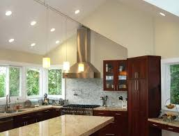 for vaulted ceilings with stunning cathedral ceiling kitchen lighting ideas full size