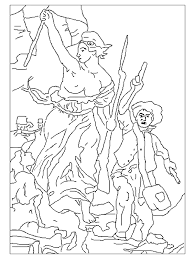 Small Picture Famous Paintings 999 Coloring Pages Embroidery pattern