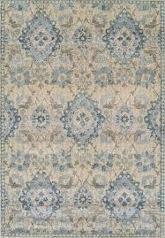 blue vines scrolls ovals diamonds contemporary area rug fl an5