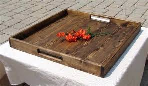 rustic wooden tray extra large wooden tray for ottoman design cape rustic wooden tray uk