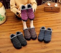 <b>New</b> Fashion <b>Men Winter Shoes</b> Solid Color Snow <b>Boots</b> Plush ...