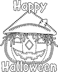 Small Picture Halloween Jack o Lantern Coloring Page crayolacom