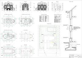Курсовые и дипломные проекты коттеджи дачи скачать котедж в dwg  Курсовой проект Трехэтажный коттедж 12 0 х 6 3 м в г
