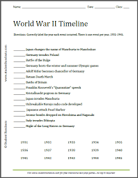 Collection Of Timeline Worksheet For 5Th Grade | Download Them And ...