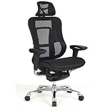 high back mesh office chair with leather effect headrest. viva office fashionable style high back mesh office chair with adjustable arms,headrest,back leather effect headrest f