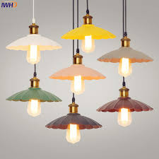Industrial lighting fixtures Fluorescent Iwhd Nordic Creative Led Pendant Lights Dinning Room Retro Vintage Lamp Style Loft Industrial Lighting Fixtures Floridamoversco Iwhd Nordic Creative Led Pendant Lights Dinning Room Retro Vintage