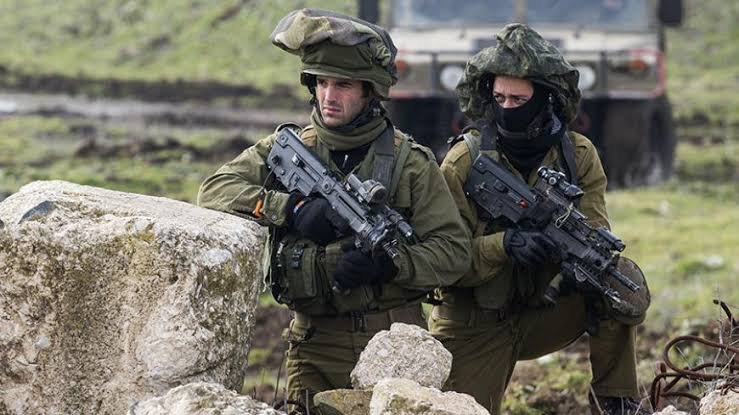 IDF Infantryman with Mitznefet and Mask Minecraft Skin
