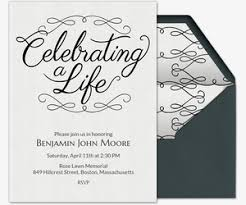 Unveiling Invitations Free Funeral And Memorial Online Invitations Evite