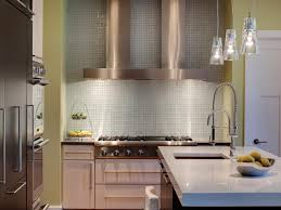 Stainless Steel Backsplash Kitchen Stainless Steel Backsplashes Pictures Ideas From Hgtv Hgtv