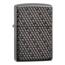<b>Зажигалка ZIPPO Armor™ с</b> покрытием Black Ice®, чёрная ...