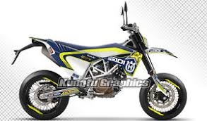 kungfu graphics fit 2017 husqvarna sm 701 supermoto full vinyl