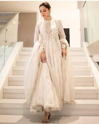 White Designer Outfits White Mahira Love It In 2019 Pakistani Formal Dresses