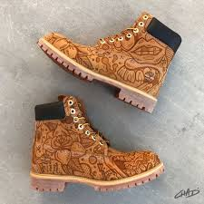 Custom Design Timberland Boots Freestyle Timbs Timberland Boots Custom Timberland Boots