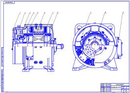 Устройство и ремонт генератора тока управления ДК К Чертеж мотор компрессора НБ 431