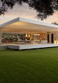 Small Picture The Most Minimalist House Ever Designed The Glass Pavilion