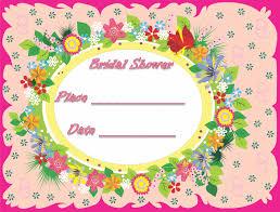 Bridal Shower Invitations Templates Microsoft Word The Captivating Bridal Shower Invitation Templates