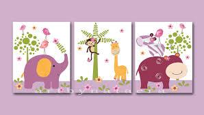 Kids Wall Art Ideas Kids Wall Decor Colorful Giraffe Animals Cartoon Vinyl Wall