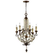 picture of meriel six light chandelier
