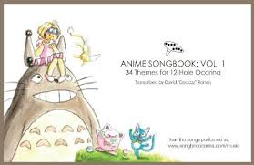Anime Songbook For 12 Hole Ocarina Sweethomely