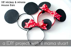 here s an easy step by step 5 total tutorial on how to diy your own mickey and minnie mouse ears for disneyland disneyworld birthday parties