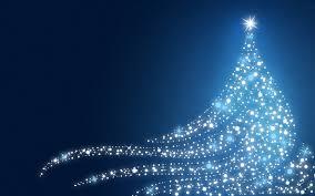 Download Free Blue Christmas Wallpaper Christmas Tree
