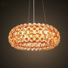 italian modern lighting.  Italian Italian Modern LightIng ClearAmber Caboche Pendant Lamp D35D50D65CM  Sweat In Lighting
