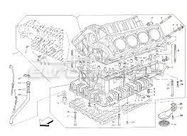 maserati shamal order online eurospares maserati shamal cylinder block from engine 700280 diagram